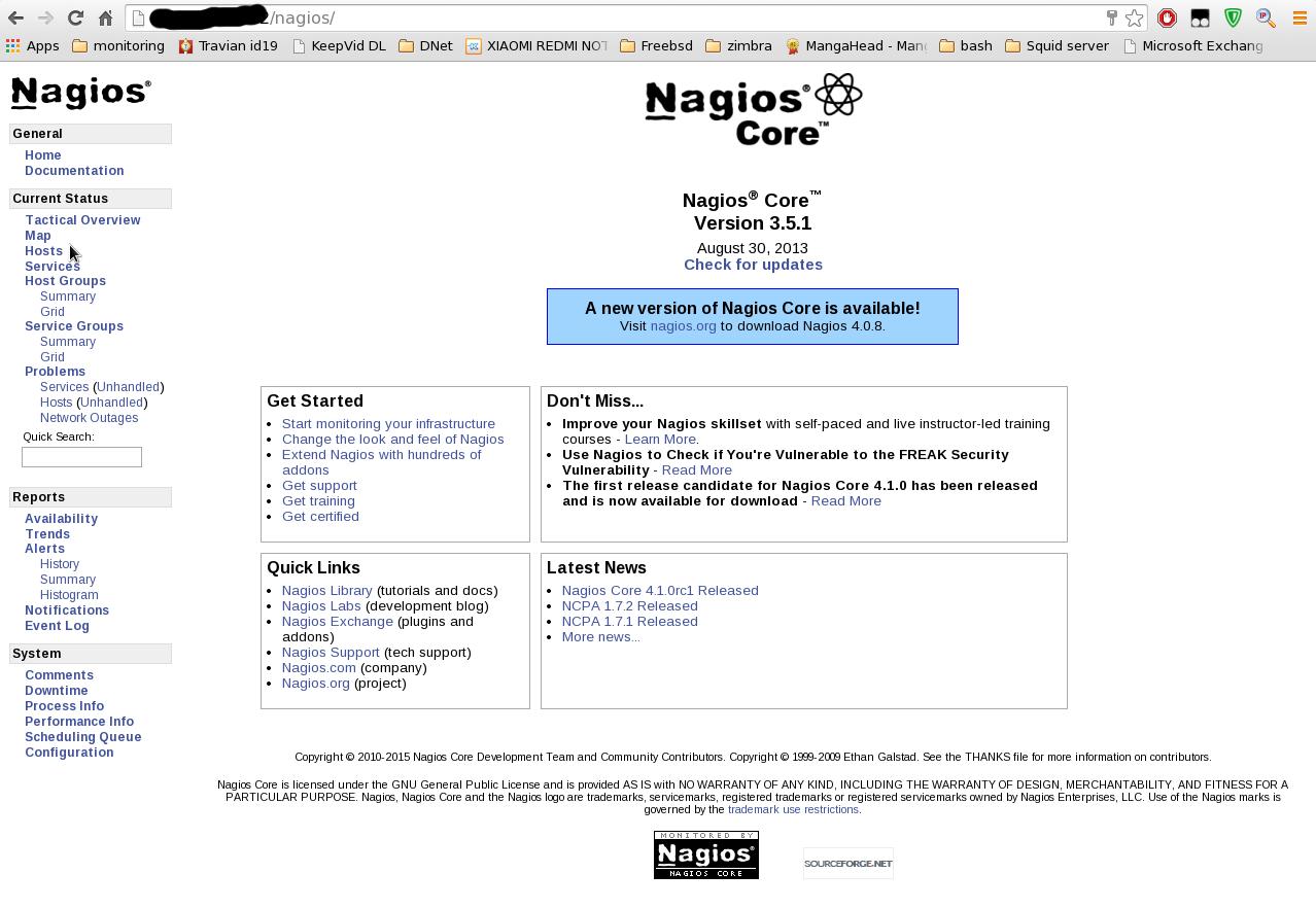Install & konfigurasi nagios server pada centos 6 6
