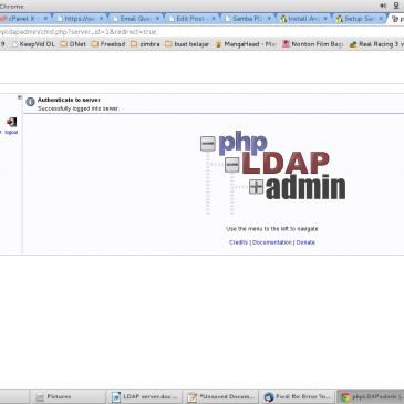 PDC dengan SAMBA + LDAP pada ubuntu 14.04 (part 1)