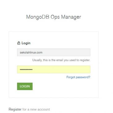 Install mongodb OPS manager pada centos 7