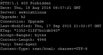 Merubah apache server name dengan mod_security pada ubuntu dan centos